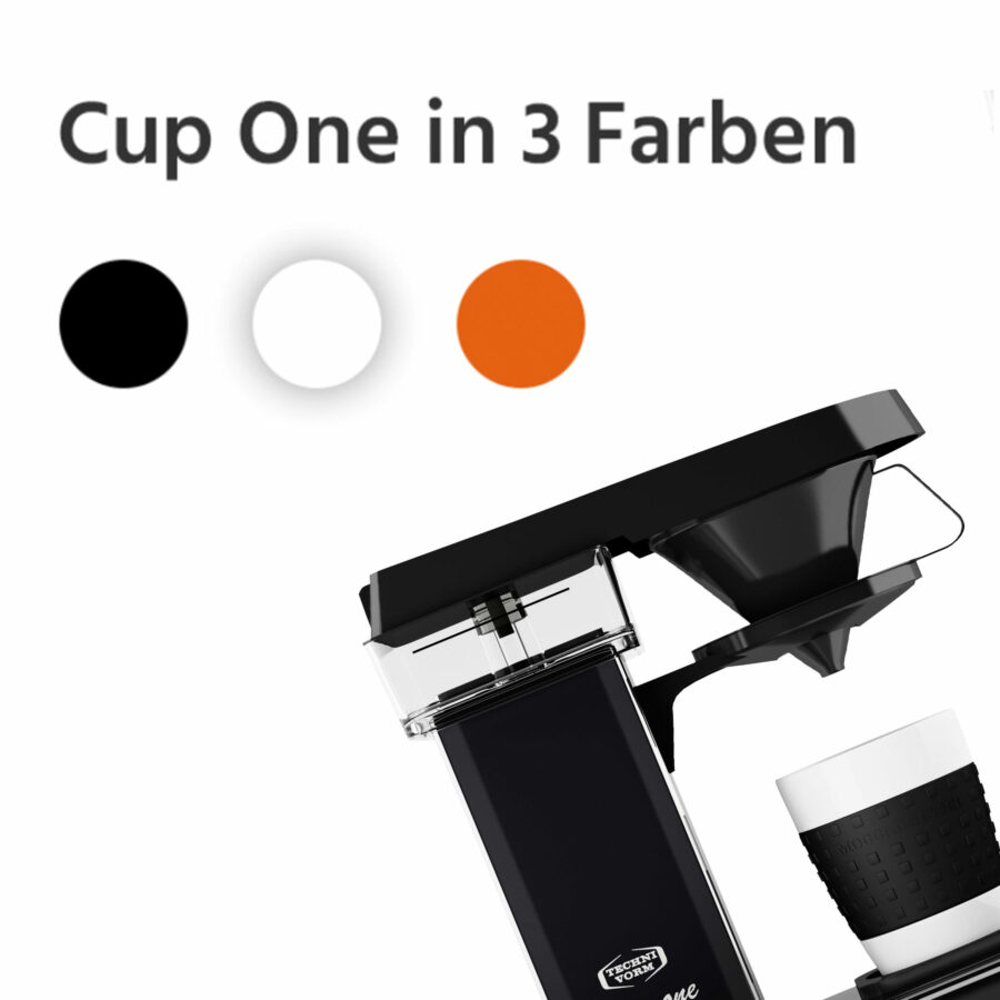 Cup One in 3 Farben
