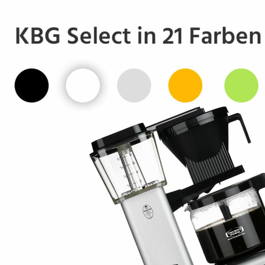 KBG Select in 21 Farben