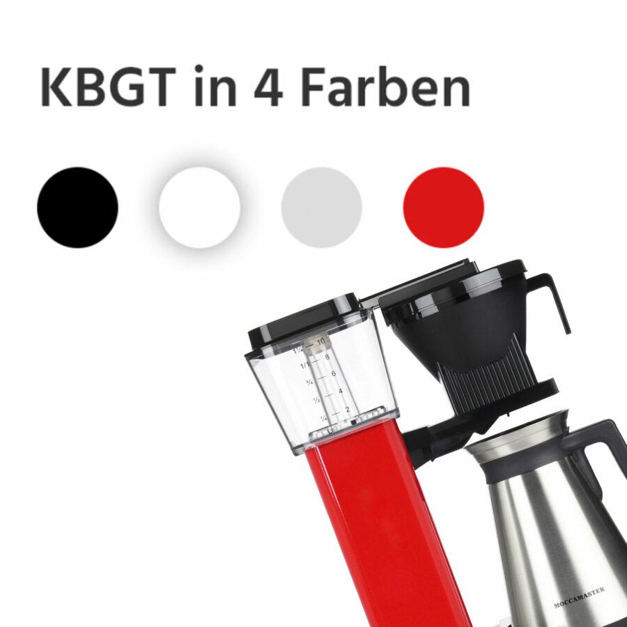 KBGT in 4 Farben